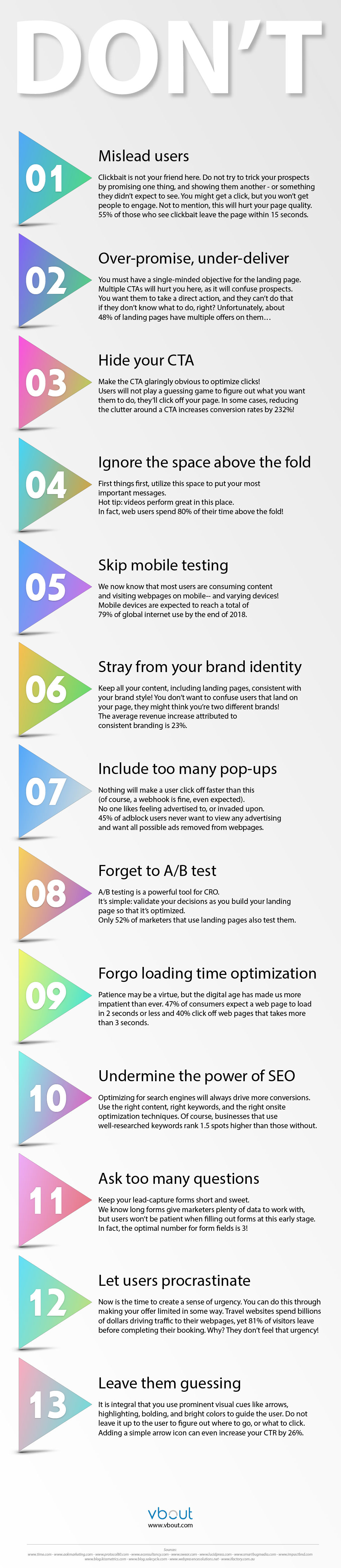 13-CRO-Mistakes-Infographic