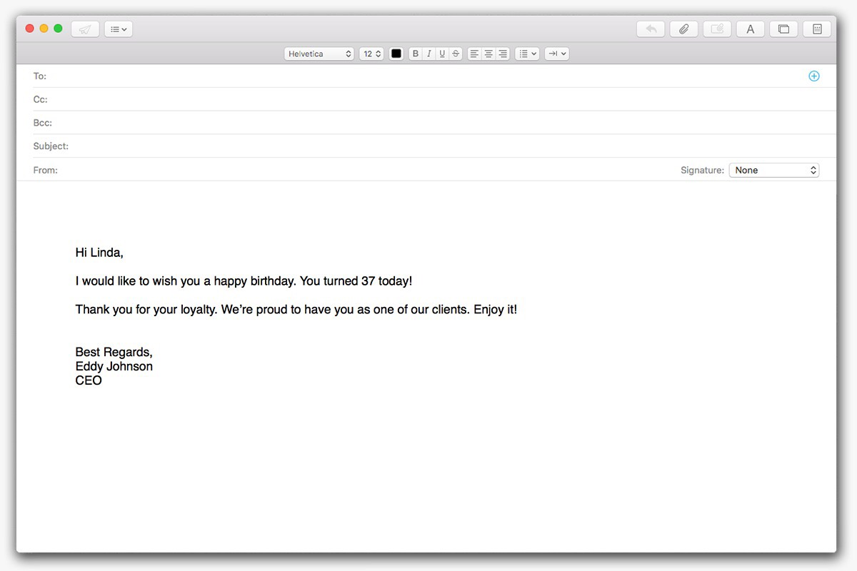 Birthday-triggered-email